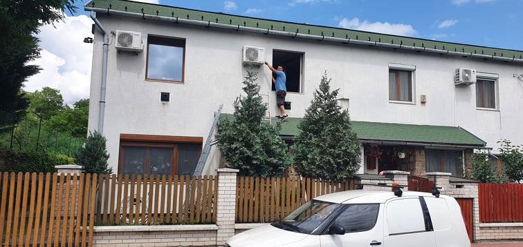 klíma beszerelés és tisztítás Budapest területén